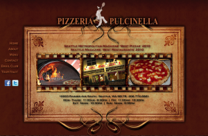 pizzeria pulcinella website image